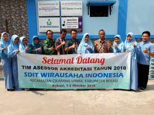 Pelaksanaan Visitasi Akreditasi SDIT Wirausaha Indonesia
