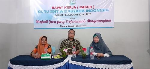 Program Pelatihan Guru SDIT Wirausaha Indonesia