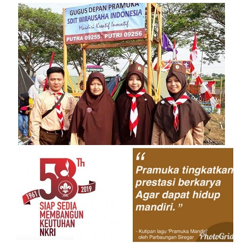 Peringatan Hari Pramuka ke-58, Siap Sedia Menjaga Keutuhan NKRI