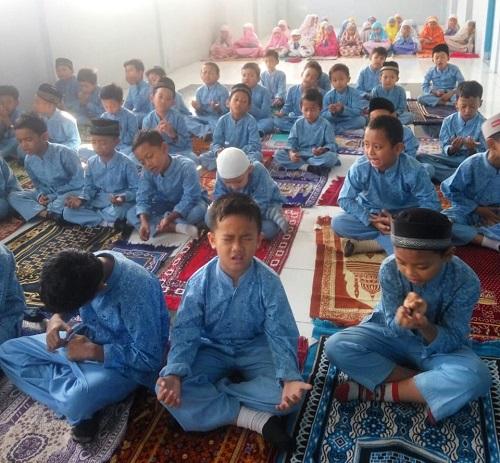 Pembiasaan Sholat Dhuha Berjamaah bagi Siswa SDIT Wirausaha Indonesia