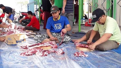 Qurban di Lingkungan SDIT Wirausaha Indonesia