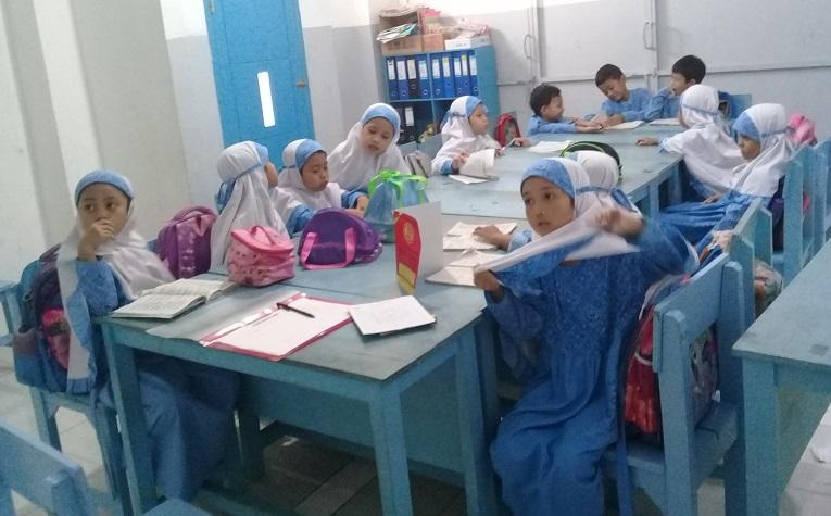 Ekskul Tahfidz Al-Qur'an Reguler di SDIT Wirausaha Indonesia