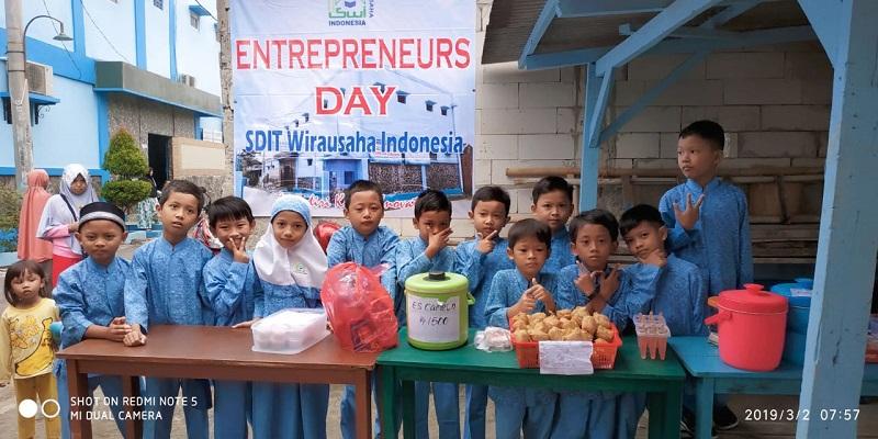 Entrepreneurs Day, Kegiatan Menarik di SDIT Wirausaha Indonesia