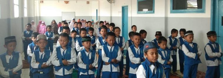 Rutinitas Sholat Dhuha Siswa Kelas 3, SDIT Wirausaha Indonesia