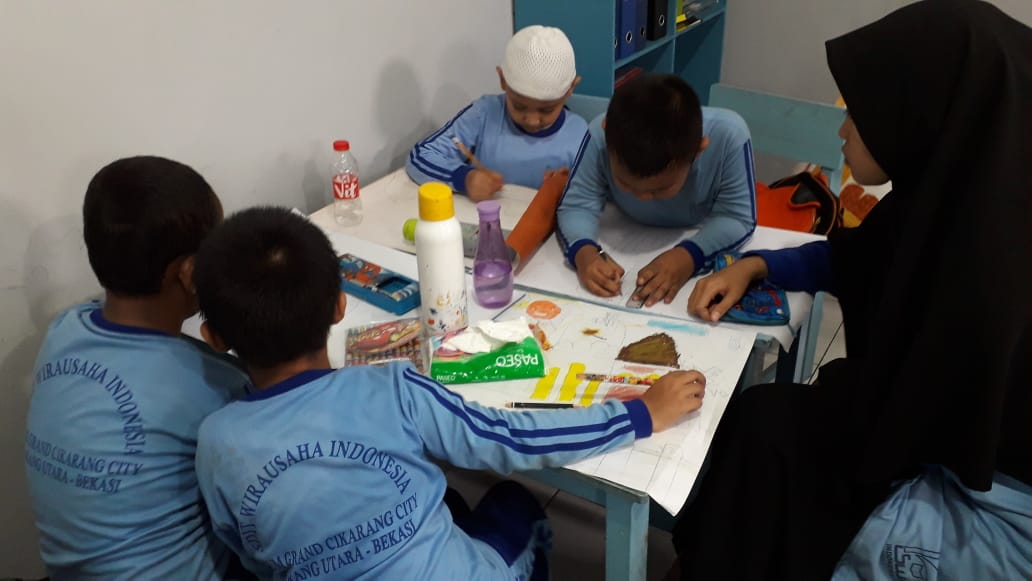Pembelajaran Siswa Inklusi di SDIT Wirausaha Indonesia