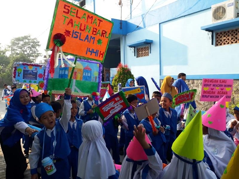 Pawai 1 Muharam di SDIT Wirausaha Indonesia