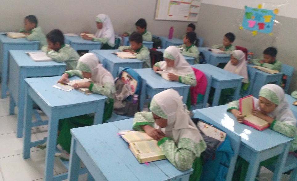 Pembiasaan Tadarus Al-Qur'an Sebelum Pembelajaran