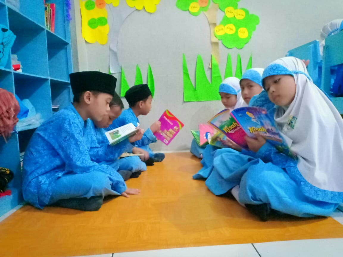 Tanamkan Minat Baca, SDIT Wirausaha Indonesia Selenggarakan Pojok Baca