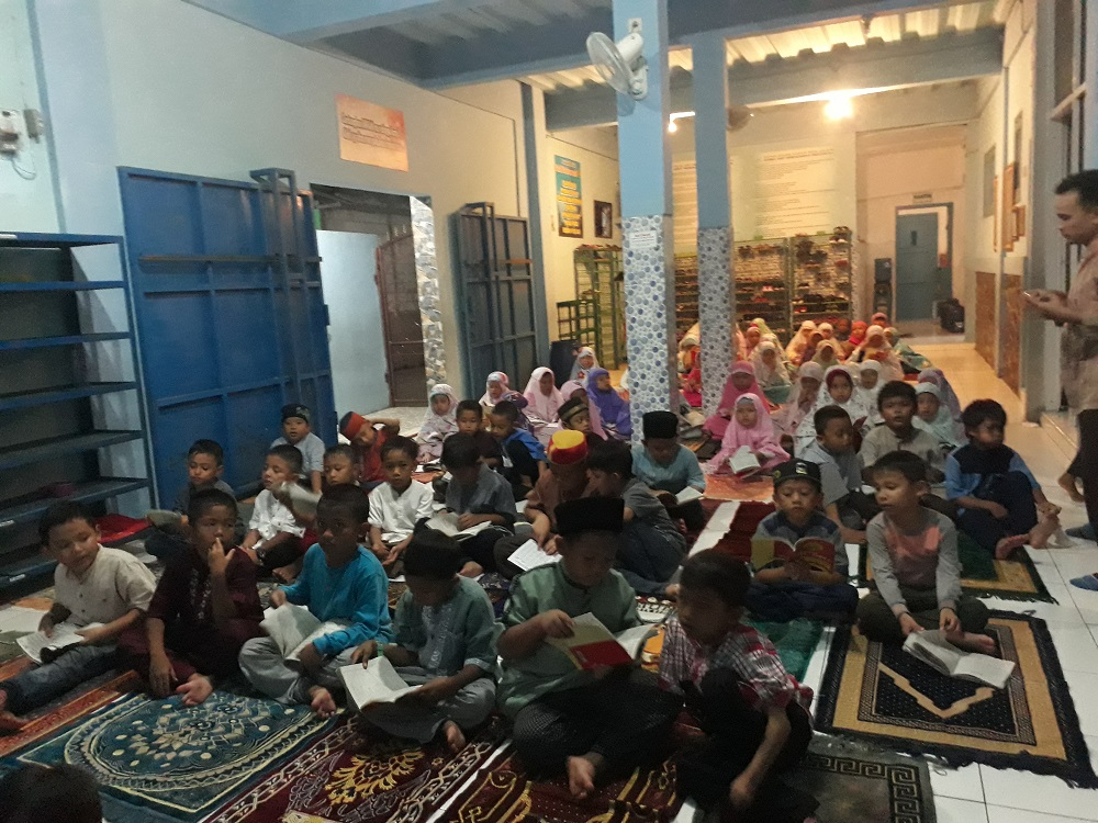 SDIT Wirausaha Indonesia Laksanakan Kegiatan Mabit