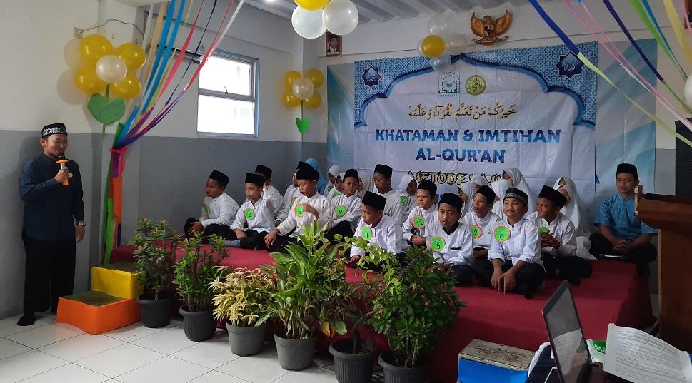 Khataman dan Imtihan Al-Qur'an SDIT Wirausaha Indonesia