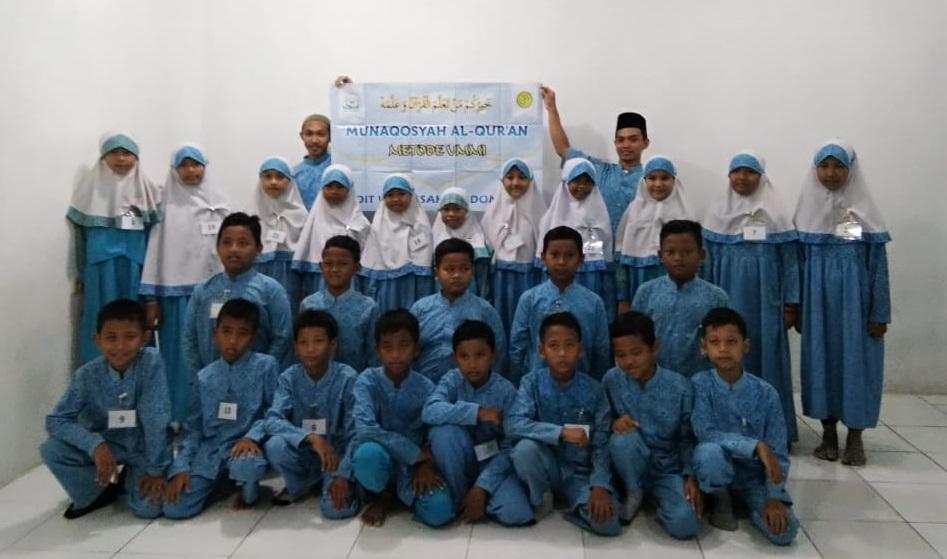 Kegiatan Munaqosyah Al-Qur'an Juz 30 SDIT Wirausaha Indonesia