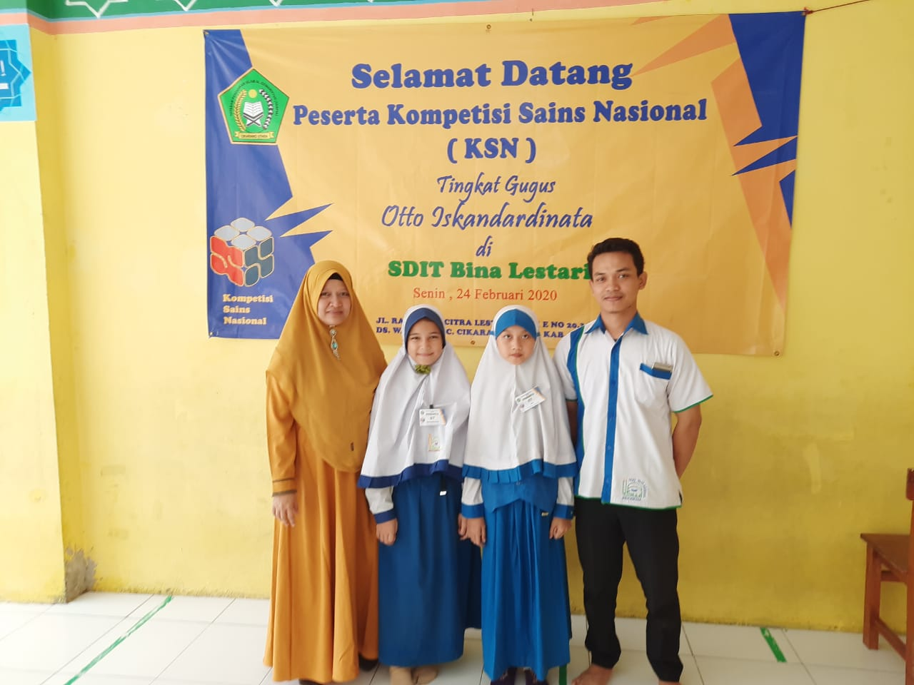 Siswa SDIT Wirausaha Indonesia Mengikuti Ajang KSN