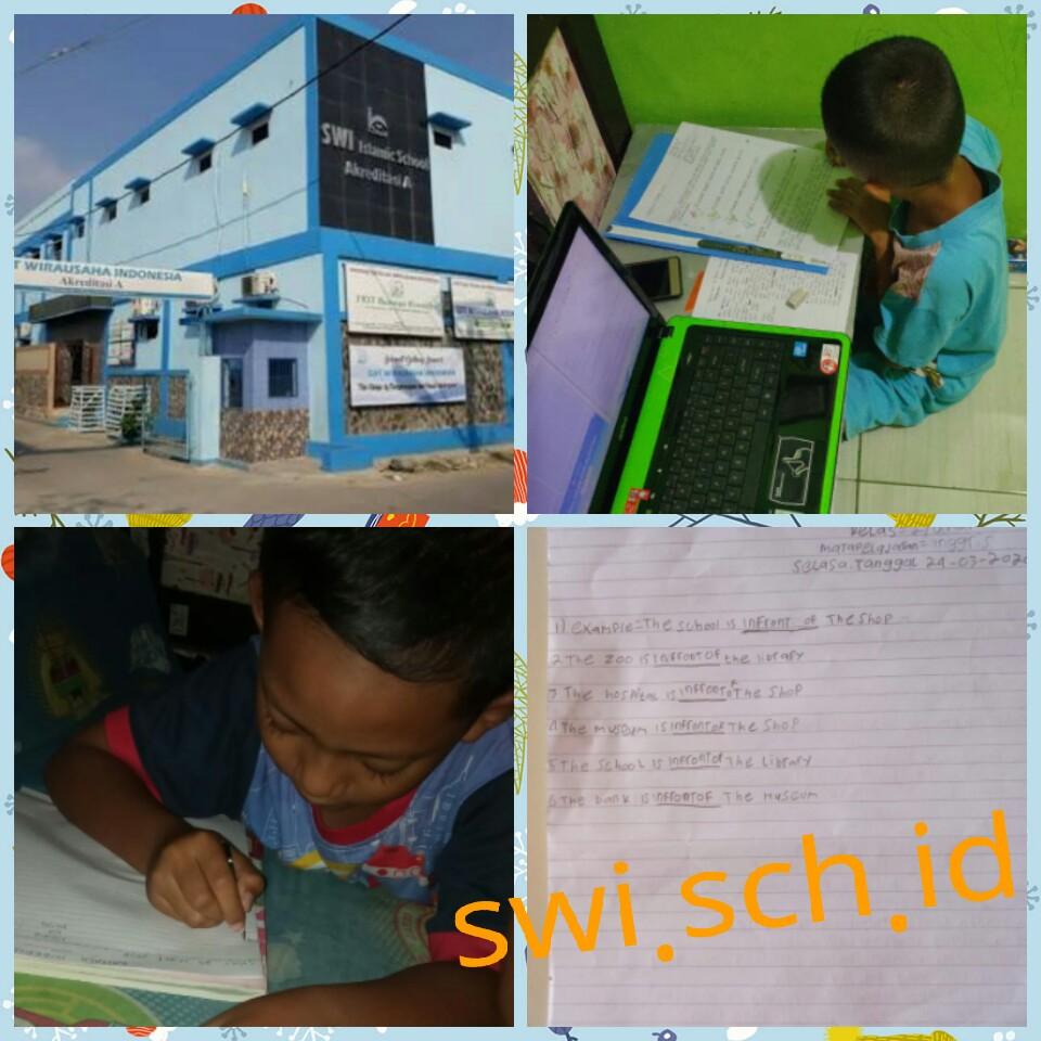Pembelajaran Online Siswa SDIT Wirausaha Indonesia