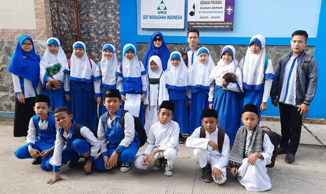 SDIT Wirausaha Indonesia Ikuti Lomba Sapta PAI dan Literasi Tingkat Gugus III Otto Iskandar Dinata