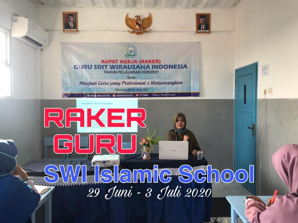 Rapat Kerja (RAKER) SDIT Wirausaha Indonesia