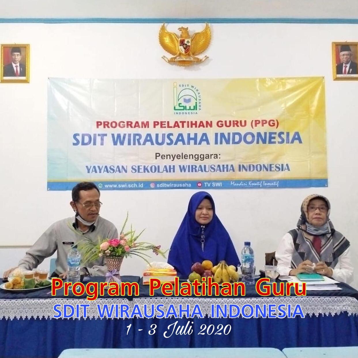 SWI Selenggarakan PPG Bagi Guru SDIT Wirausaha Indonesia Tahun Pelajaran 2020/2021