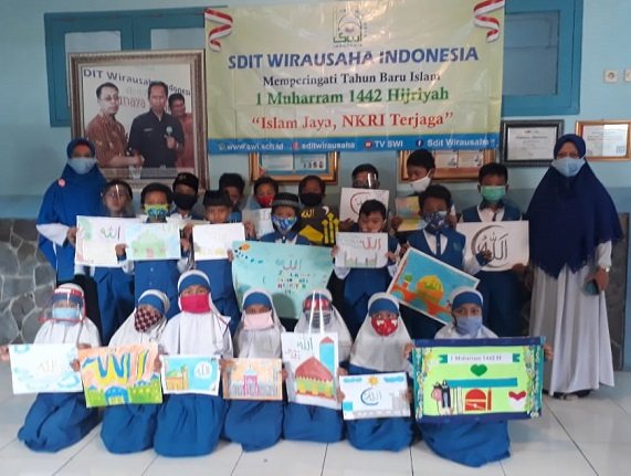 Peringatan HUT RI ke 75 SDIT Wirausaha Indonesia