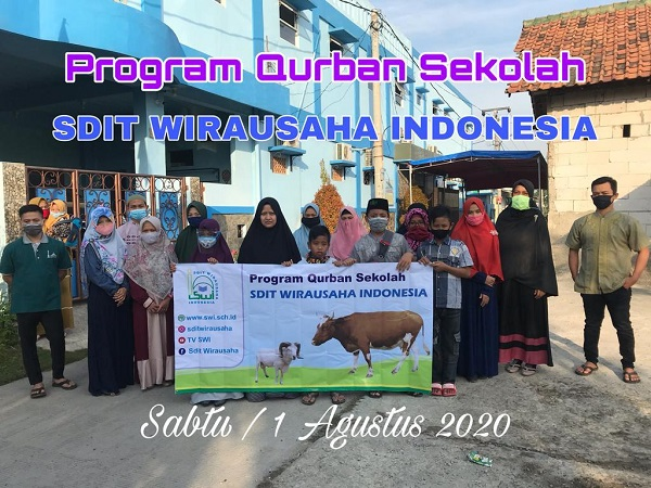 Pelaksanaan Qurban SDIT Wirausaha Indonesia