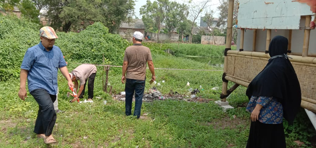 Pengukuran Lahan untuk SMPIT Wirausaha Indonesia