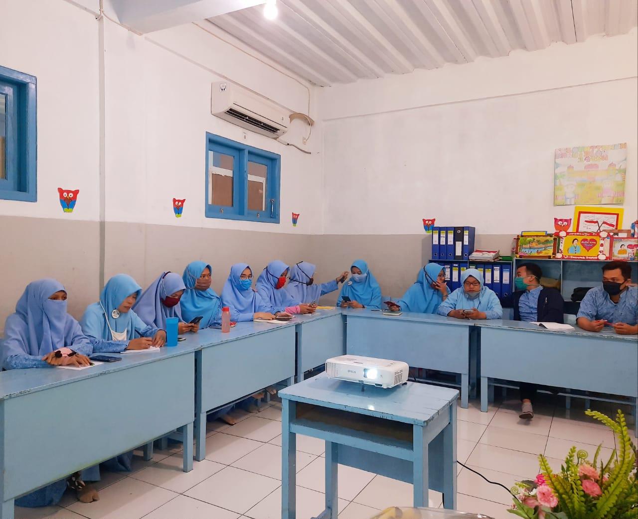 Kegiatan Supervisi Belajar Dari Rumah di SDIT Wirausaha Indonesia