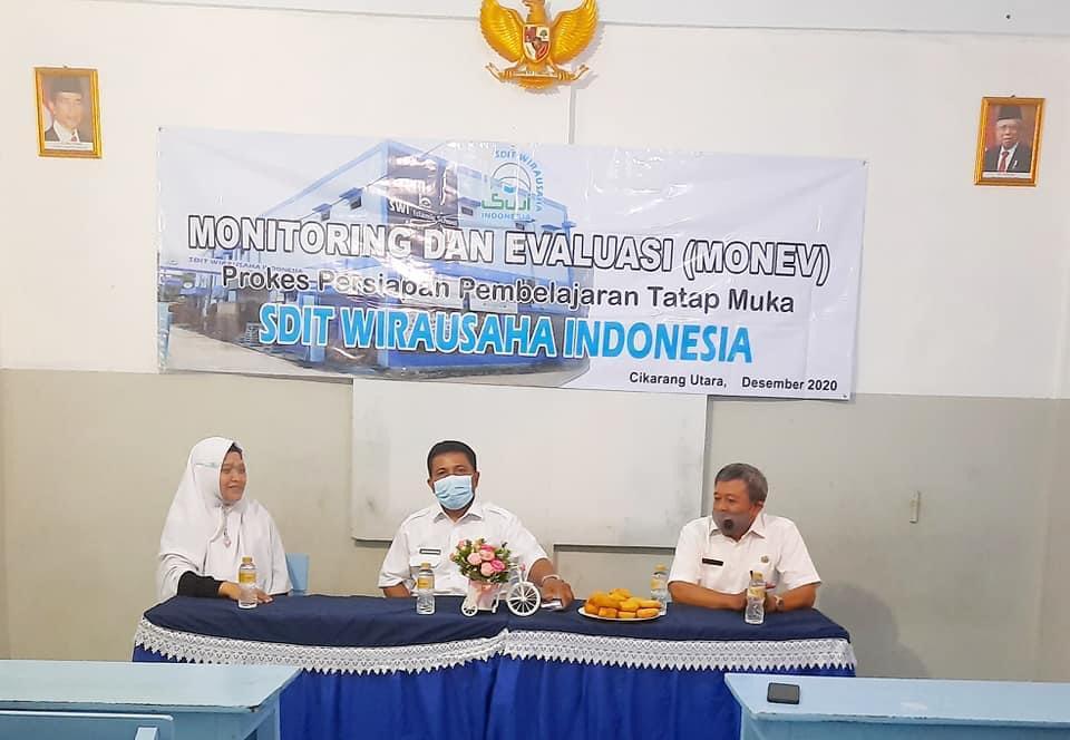 MONEV Persiapan Pembelajaran Tatap Muka SDIT Wirausaha Indonesia