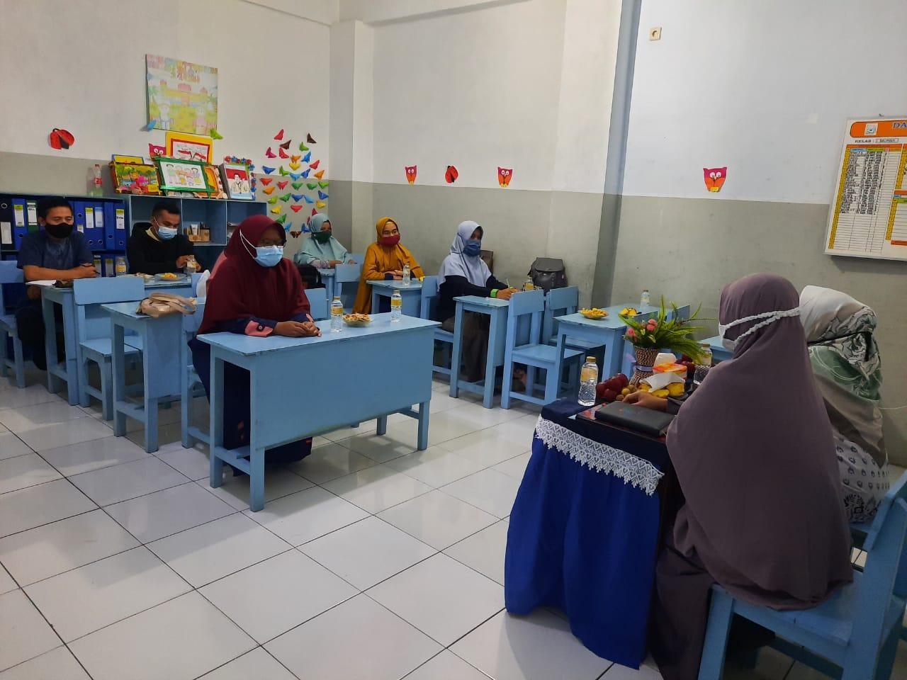 Supervisi Pelaksanaan BDR di SDIT Wirausaha Indonesia